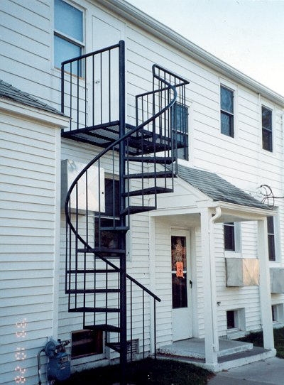 Spiral Staircases - both indoors and outdoors
